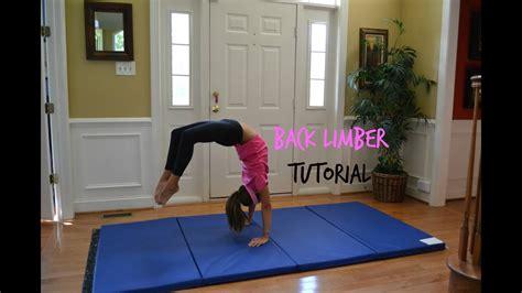Back Limber Tutorial - YouTube