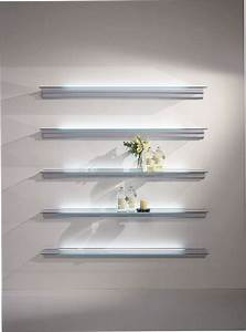 étagère En Verre Ikea : tag re murale contemporaine en aluminium en verre hialina by oscar tusquets lluis ~ Teatrodelosmanantiales.com Idées de Décoration