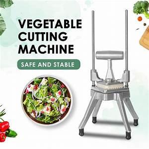 Commercial Manual Vegetable Cutter Salad Dicing Maker