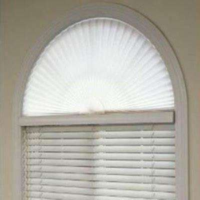 fan shaped window shades skylight shades arch blinds shades the home depot