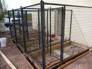 diy outdoor dog kennels 2017 2018 best cars reviews With best way to build a dog kennel