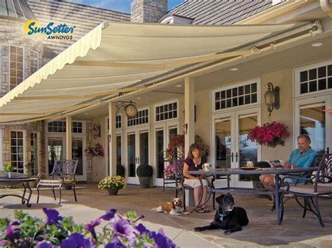 sunsetter motorized awning  acrylic fabric  sunsetter awnings ebay