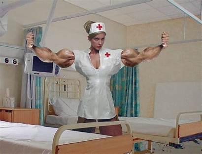Nurse Animation Flexing Patient Deviantart Buff Nurses