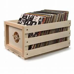 Bac A Vinyl : crosley crosley ac1004a 12 inch lp vinyl record storage crate natural wood vinyl at juno records ~ Teatrodelosmanantiales.com Idées de Décoration