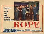 Lobby Card from the film Rope | Alfred hitchcock ...