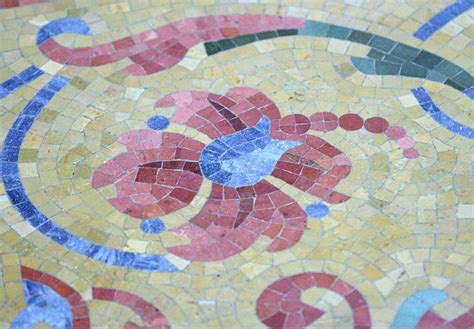 tile mosaic celsus a library architecture resource central branch milwaukee public library milwaukee