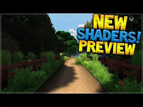 shaders mod game preview minecraft xbox super duper