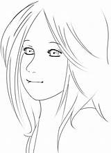 Anime Sad Coloring Lineart Easy Template Sketch Deviantart Wolf Furry sketch template