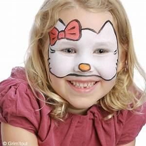 Maquillage Simple Enfant : tuto maquillage hello kitty id es conseils et tuto maquillage ~ Melissatoandfro.com Idées de Décoration