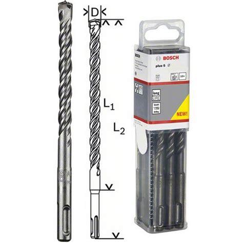 Bosch SDSPlus5 Drill Bit, 10 pack, 6x100x165mm 2608585617