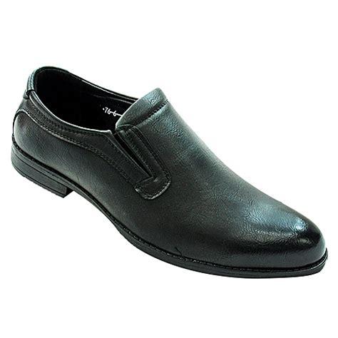 mens slip  shoes black jumia uganda