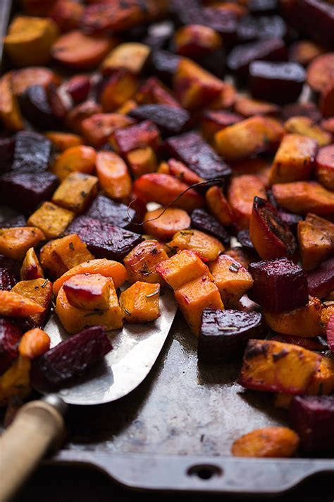 Roasted Root Vegetables  Slim Palate