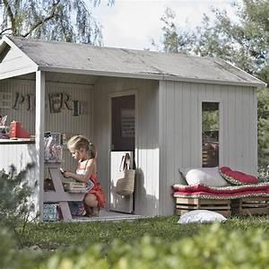 Maison De Jardin Enfant En Bois : maisonnette bois cyrielle soulet m leroy merlin ~ Premium-room.com Idées de Décoration