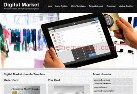 black responsive joomla template black white free responsive market joomla template