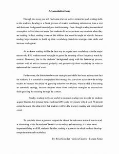 Thesis Statement For Education Essay Argument Essay Topics Education Essay Outline Template Word High School Reflective Essay also Personal Essay Examples High School Argumentative Essay Topics Education Examples Of Argumentative Essay  Proposal Essay Topic