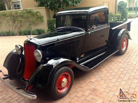 1933 Dodge Pickup, Very Rare, Full Restoration, Suicide
