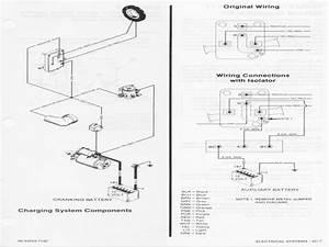 Boat Dual Battery Wiring Diagram For Yanmar Sel