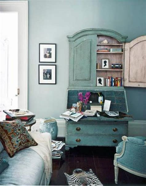 Monochromatic Blue Living Room by Design Munch On These Monochromatic Delights