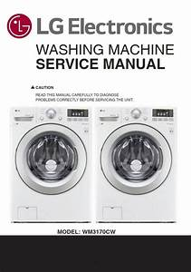 Lg Wm3170cw Washing Machine Service Manual And Repair