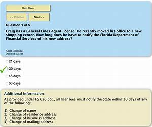 neet free online test series With florida insurance adjuster license
