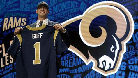 bust jared goff demoted   string quarterback  rams