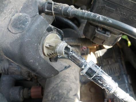 Throttle Cable Broken