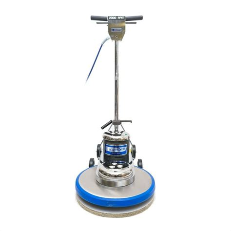High Speed Floor Buffer by Trusted Clean 2000 Rpm 20 Inch High Speed Floor Burnisher