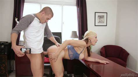 Diffident Stepmom Seduces And Drilled