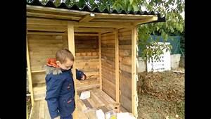 Construire Un Poulailler En Bois : construction poulailler en palette youtube ~ Melissatoandfro.com Idées de Décoration