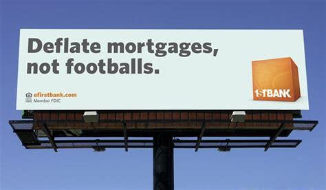firstbank tackles deflate gate  billboard