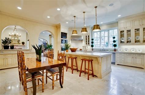 cuisine americaine de luxe maison familiale dans les environs de dallas
