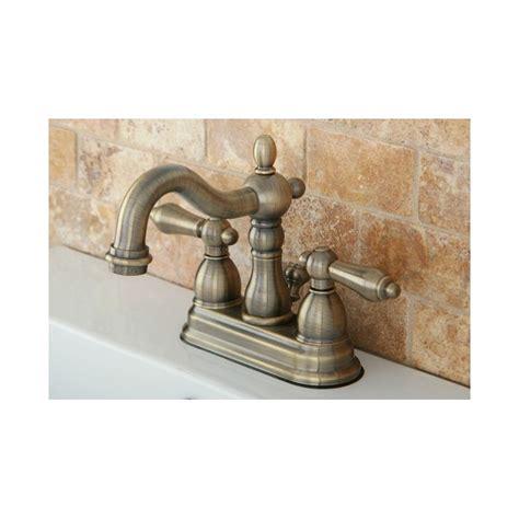 faucet kb1603al in antique brass by kingston brass