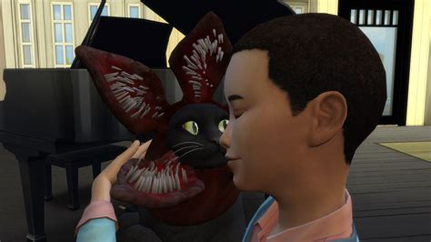 The Sims 4 Cats & Dogs Create A Demagorgon Cat With This