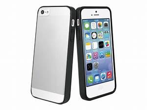 Coque Iphone 5 : muvit crystal bump coque de protection pour iphone 5 5s se noir transparent coques iphone ~ Teatrodelosmanantiales.com Idées de Décoration