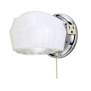 Bathroom Light Fixture With On Switch by Westinghouse 1 Light Chrome Interior Wall Fixture 6640200