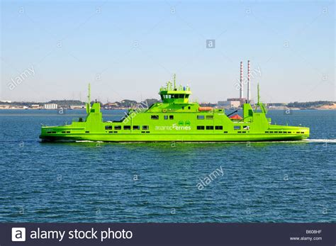 Ferry Boat Setubal by Ferry Boat Betwen Setubal And Troia Resort Portugal Stock