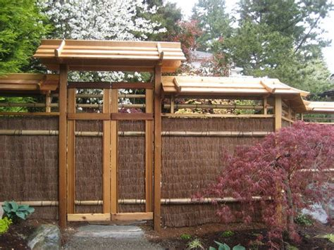 japanese fences japanese trellis fences japanese garden north seattle this would be another alternative for