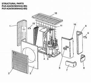 Mitsubishi Model Puy Heat Pump
