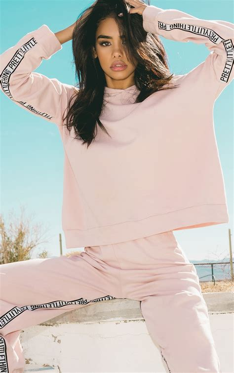 PRETTYLITTLETHING Pink Oversized Hoodie | PrettyLittleThing