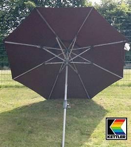 Kettler Sonnenschirm 300 : kettler kurbelschirm schirm sonnenschirm 300 cm rund ~ Eleganceandgraceweddings.com Haus und Dekorationen