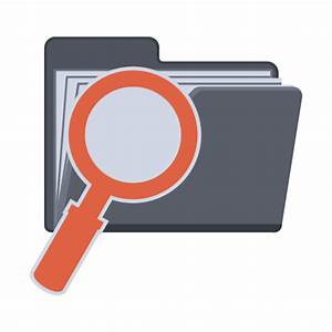 Search Folder Icon | Flat Folder Iconset | PelFusion