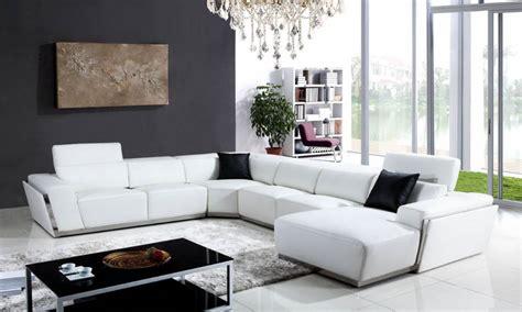 grand canapé en u grand canapé achat vente canape en cuir ritchy u