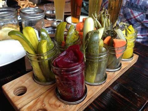 beer biscuits pickles jams meats comfort food