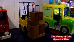 2000s Coin Operated Forklift Kiddie Ride