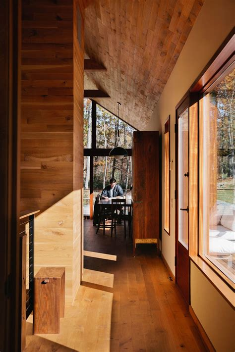 hudson woods sustainable modern cabins offer  escape