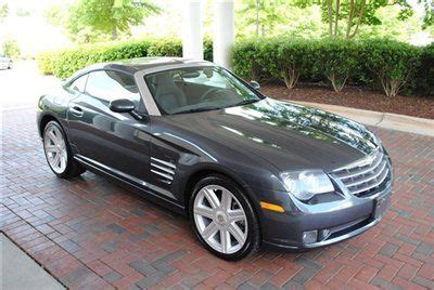 automobile air conditioning service 2007 chrysler crossfire spare parts catalogs find used 2007 chrysler crossfire limited coupe 57 000 miles automatic gray we take trades in