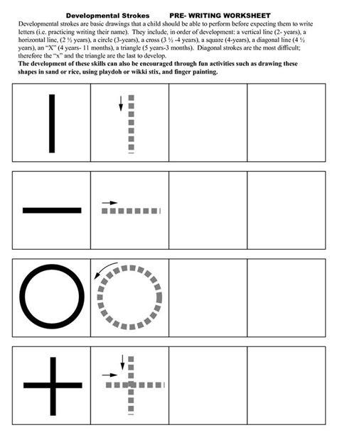 pre writing strokes worksheets ot preschool 463 | 9f5180b6b019b0ea7fb04127bc8ef596