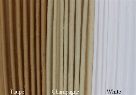Sidelight Tension Curtain Rods by Sidelight Curtains Burnished Sateen Crushed Fabrics