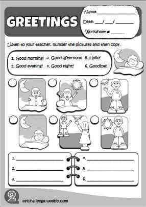 kids   sheet httpeslchallengeweebly