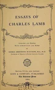 poor relations by charles lamb